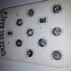Libros antiguos: LIBRO BARÇA EN CALALA. ELS ONZE DEL BARÇA.. Lote 152344122