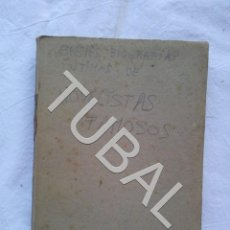 Libros antiguos: TUBAL NOVELISTAS FAMOSOS BREVES BIOGRAFIAS. Lote 152346598
