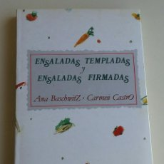 Libros antiguos: ENSALADAS TEMPLADAS Y ENSALADAS FIRMADAS. . Lote 152569010