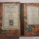 Libros antiguos: 2 FACSÍMILES DE LA FLORIDA DEL INCA Y LA HISTORIA GENERAL DEL PERÚ, DEL INCA GARCILASO DE LA VEGA. Lote 163380086