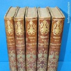 Libros antiguos: HISTORIA DE LA GUERRA CIVIL,Y DE LOS PARTIDOS LIBERAL Y CARLISTA. -ANTONIO PIRALA. Lote 152611122