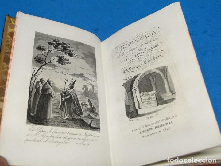 Libros antiguos: HISTORIA DE LA REFORMA PROTESTANTE EN INGLATERRA E IRLANDA(2 vol. obra completa ).-COBBETT, William - Foto 2 - 152614482
