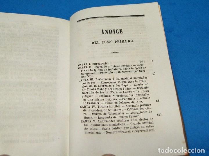 Libros antiguos: HISTORIA DE LA REFORMA PROTESTANTE EN INGLATERRA E IRLANDA(2 vol. obra completa ).-COBBETT, William - Foto 4 - 152614482