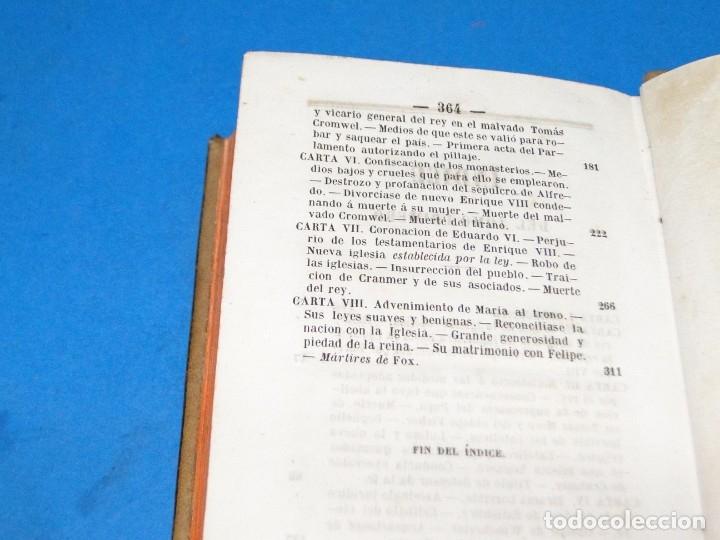 Libros antiguos: HISTORIA DE LA REFORMA PROTESTANTE EN INGLATERRA E IRLANDA(2 vol. obra completa ).-COBBETT, William - Foto 5 - 152614482