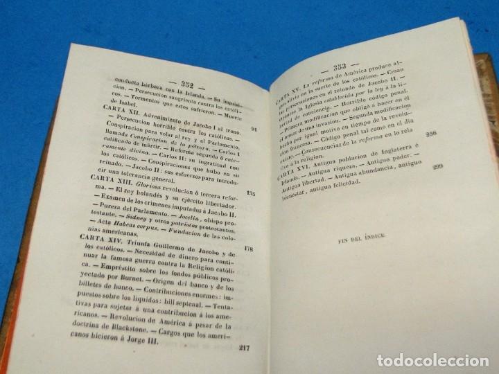 Libros antiguos: HISTORIA DE LA REFORMA PROTESTANTE EN INGLATERRA E IRLANDA(2 vol. obra completa ).-COBBETT, William - Foto 9 - 152614482