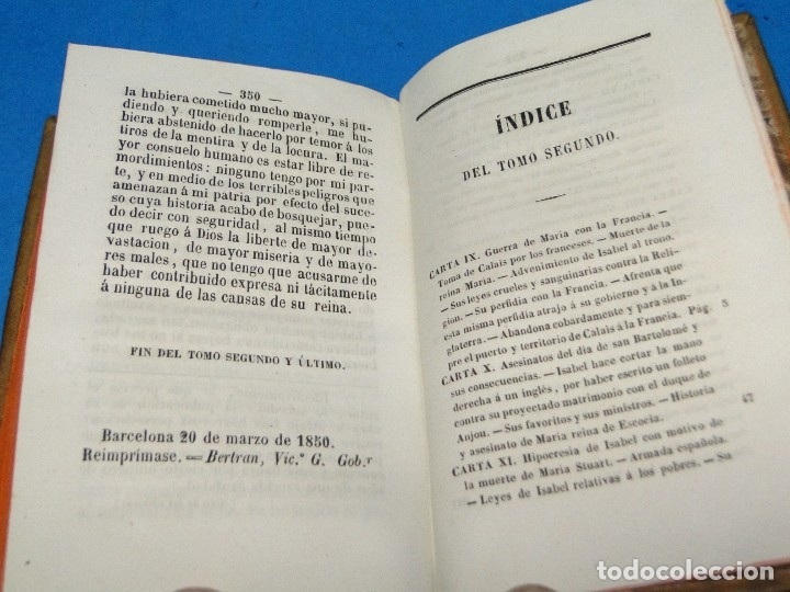 Libros antiguos: HISTORIA DE LA REFORMA PROTESTANTE EN INGLATERRA E IRLANDA(2 vol. obra completa ).-COBBETT, William - Foto 8 - 152614482