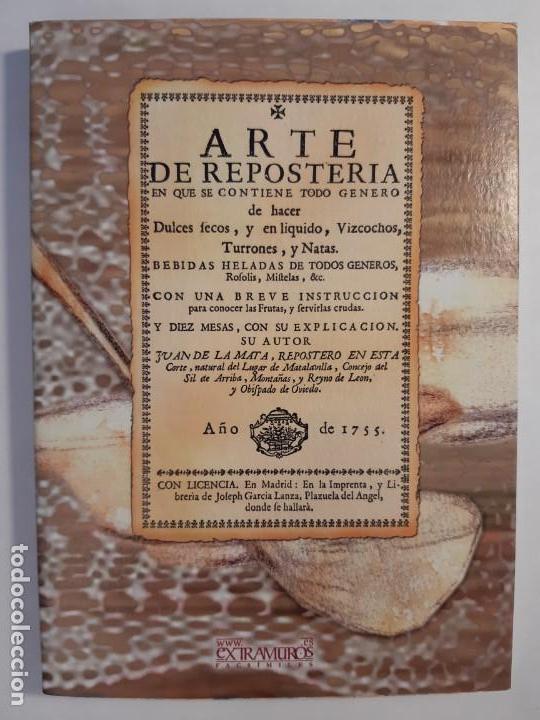 Libros antiguos: 16 libros facsímiles relativos a la GASTRONOMÍA. Cocina casera tradicional española Repostería - Foto 4 - 235537990