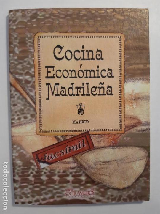 Libros antiguos: 16 libros facsímiles relativos a la GASTRONOMÍA. Cocina casera tradicional española Repostería - Foto 11 - 235537990