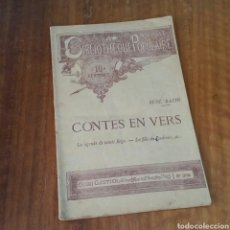 Libros antiguos: LIBRO CONTES EN VERS. Lote 152633589