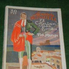 Libros antiguos: EL CAPITAN MALA SOMBRA, DE PIO BAROJA - LA NOVELA MUNDIAL 1928 ILUSTR.MASBERGER. Lote 152688054