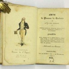 Libros antiguos: AÑO 1832 - [MR. EMILE]. ARTE DE PONERSE LA CORBATA DE MIL Y UNA MANERAS - MODA. Lote 152737878