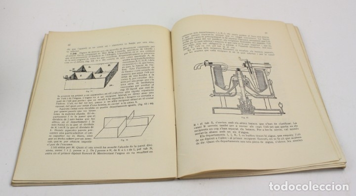 Libros antiguos: Fabricació dolis, August Matons, 1922, Mancomunitat, Escola dAgricultura, Barcelona. 24,5x18cm - Foto 3 - 152740118