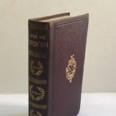 Livros antigos: OBRAS POÉTICAS COMPLETAS. ESPRONCEDA, JOSE DE. JOYA - AGUILAR. PRIMERA EDICIÓN, 1936.. Lote 152752242