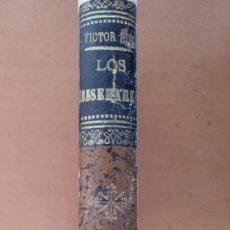 Libros antiguos: LOS MISERABLES VICTOR HUGO TOMO QUINTO JUAN VALJEAN SALVATELLA BARCELONA ILUSTRADA POR LABARTA. Lote 152761078