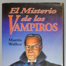 Libros antiguos: EL MISTERIO DE LOS VAMPIROS. Lote 152832286