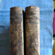 Libros antiguos: SACRI REGII SENATUS CATALONIAE DECISIONES PER IOANNEM PETRUM FONTANELLA. 2 TOMOS. AÑO 1639-1645. O.. Lote 152873566
