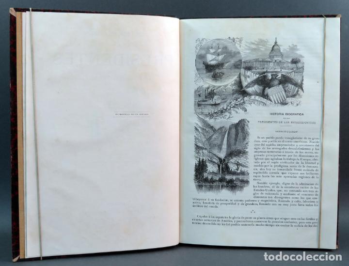 Libros antiguos: Historia de los Presidentes de los Estados Unidos L Verneuil Montaner y Simón editores 1885 - Foto 4 - 152903926