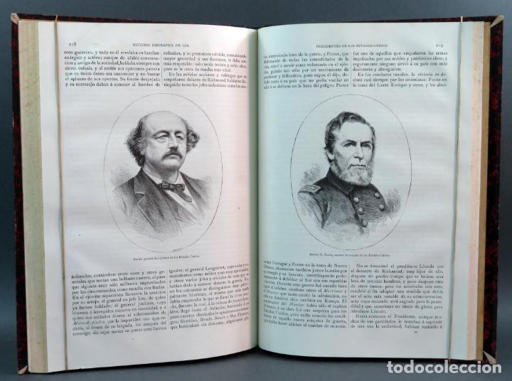 Libros antiguos: Historia de los Presidentes de los Estados Unidos L Verneuil Montaner y Simón editores 1885 - Foto 5 - 152903926