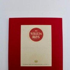 Libros antiguos: L-307 M.S. WILLEM RUYS KONINKLIJKE ROTTERDAMSCHE LLOYD N.V.PRINCIPIOS DE SIGLO XX.. Lote 152903990