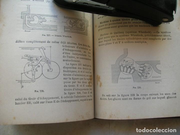 Libros antiguos: J.Dejust. Machines a vapeur et machines thermiques diverses. - Foto 7 - 152947034