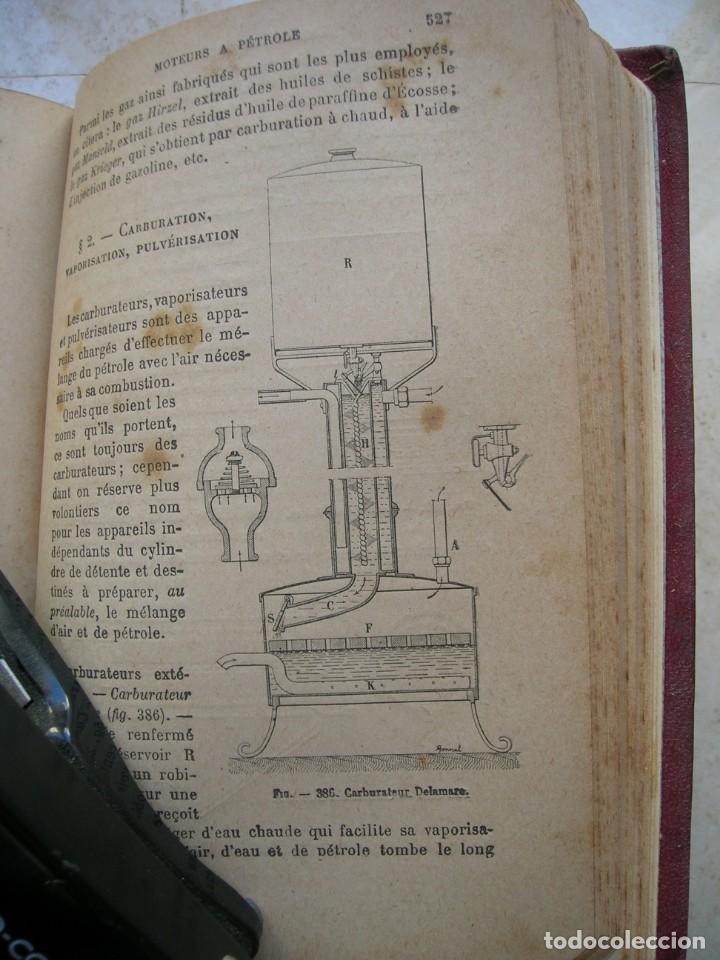 Libros antiguos: J.Dejust. Machines a vapeur et machines thermiques diverses. - Foto 8 - 152947034