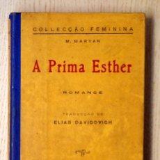 Libros antiguos: A PRIMA ESTHER - MARYAN, M.. Lote 152983308