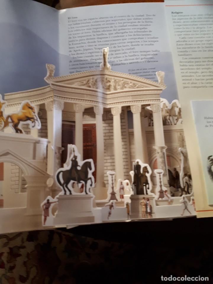 Libros antiguos: POMPEYA, libro pop-up - Foto 3 - 153069154