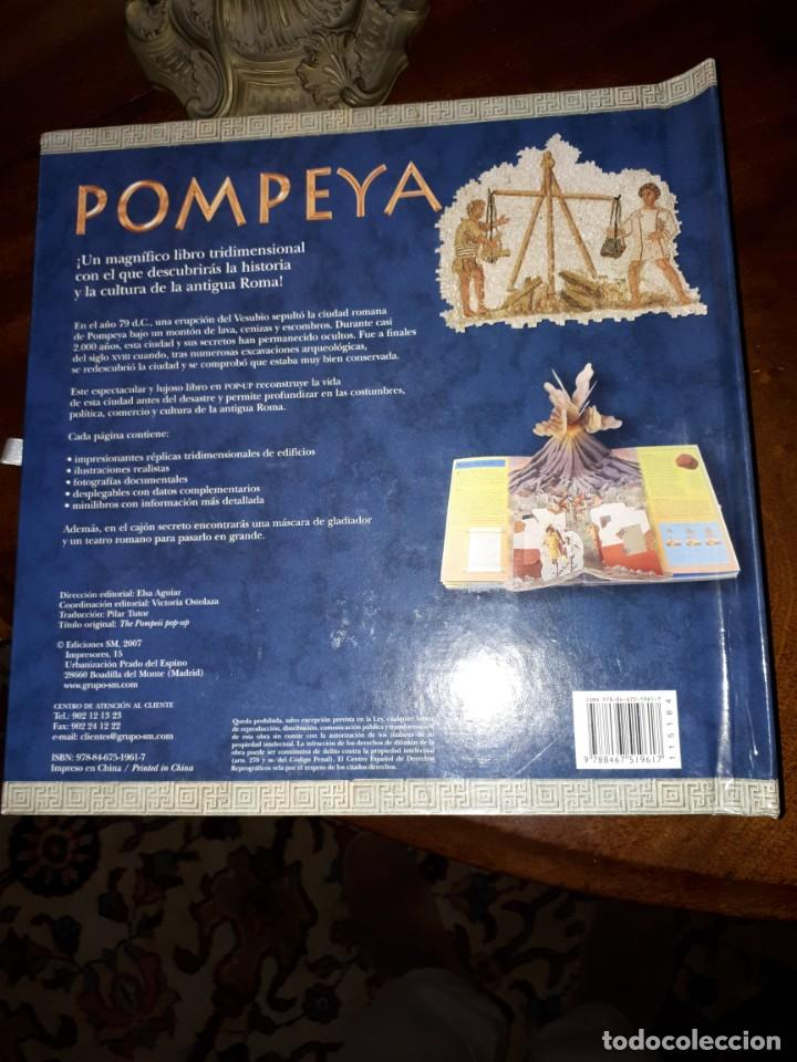 Libros antiguos: POMPEYA, libro pop-up - Foto 8 - 153069154