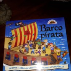 Libros antiguos: BARCO PIRATA, LIBRO POP-UP. Lote 153072390