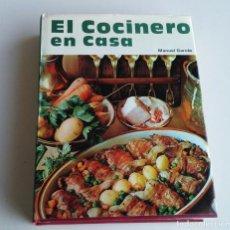Libros antiguos: EL COCINERO EN CASA. MANUEL GARCÉS. Lote 153150350