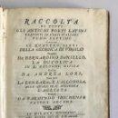 Libros antiguos: RACCOLTA DI TUTTI GLI ANTICHI POETI LATINI TRADOTTI IN VERSI ITALIANI. TOMO SETTIMO.. Lote 153186798