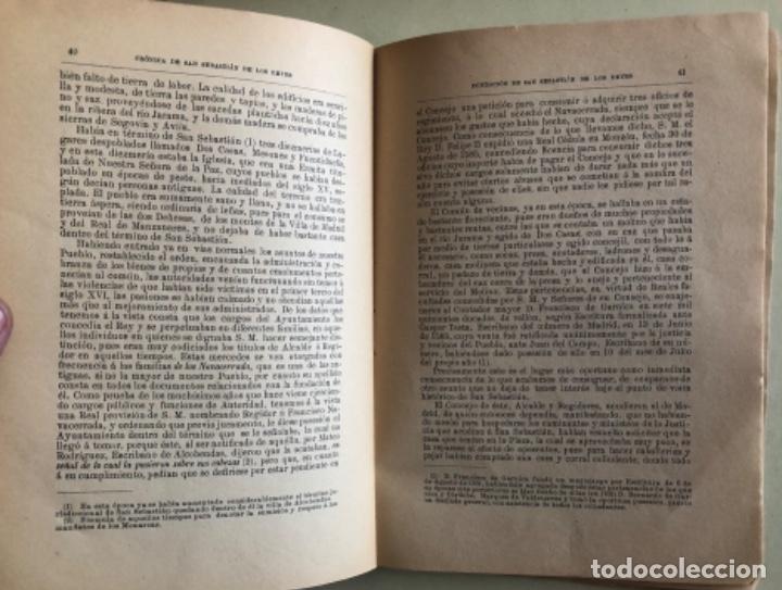 Libros antiguos: MADRID- CRONICA DE SAN SEBASTIAN DE LOS REYES- LAUREANO MONTERO GARCIA - 1.890 1 ª EDICION- RARO - Foto 3 - 153219422