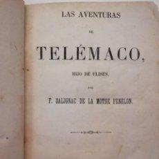 Libros antiguos: LAS AVENTURAS DE TELÉMACO. Lote 153236042