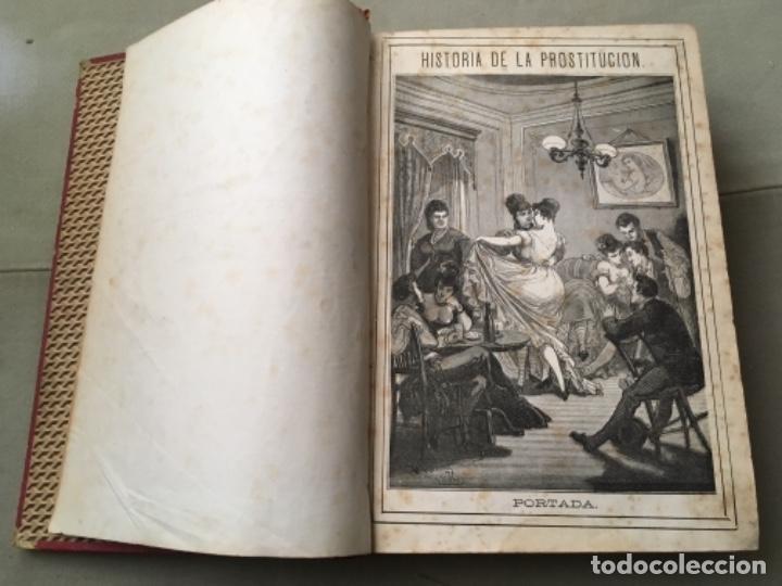 Libros antiguos: HISTORIA DE LA PROSTITUCIÓN - AÑO 1877 - P. DUFOUR - LÁMINAS DE EUSEBIO PLANAS - Foto 2 - 153259870