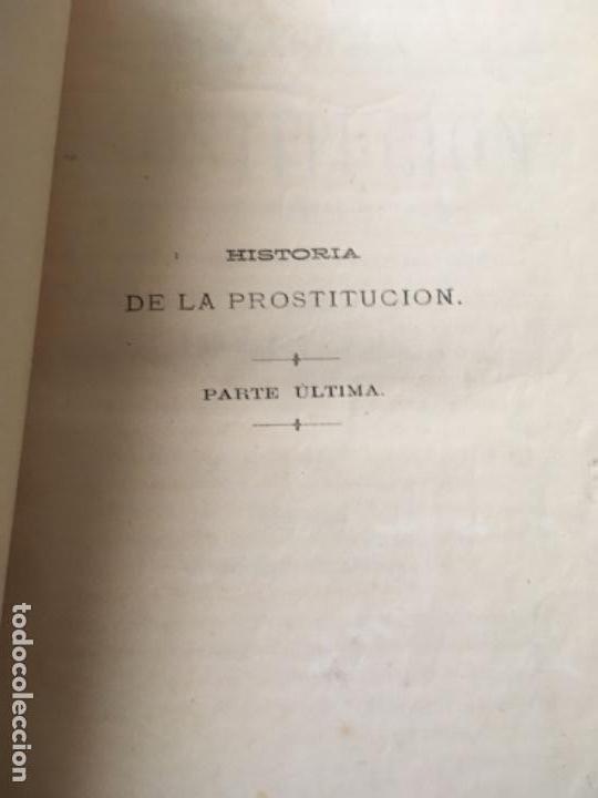 Libros antiguos: HISTORIA DE LA PROSTITUCIÓN - AÑO 1877 - P. DUFOUR - LÁMINAS DE EUSEBIO PLANAS - Foto 8 - 153259870
