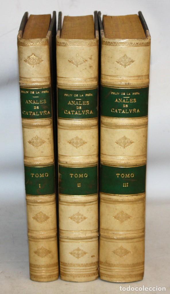 ANALES DE CATALUÑA Y EPILOGO BREVE DE LOS PROGRESSOS, Y FAMOSOS HECHOS DE LA NACION CATALANA. 1709 (Libros Antiguos, Raros y Curiosos - Historia - Otros)