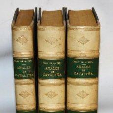 Libros antiguos: ANALES DE CATALUÑA Y EPILOGO BREVE DE LOS PROGRESSOS, Y FAMOSOS HECHOS DE LA NACION CATALANA. 1709. Lote 153271170