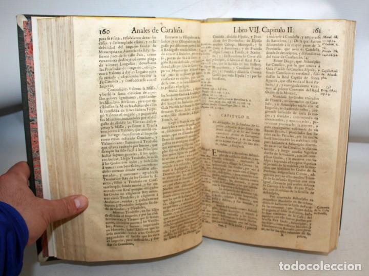 Libros antiguos: ANALES DE CATALUÑA Y EPILOGO BREVE DE LOS PROGRESSOS, Y FAMOSOS HECHOS DE LA NACION CATALANA. 1709 - Foto 6 - 153271170
