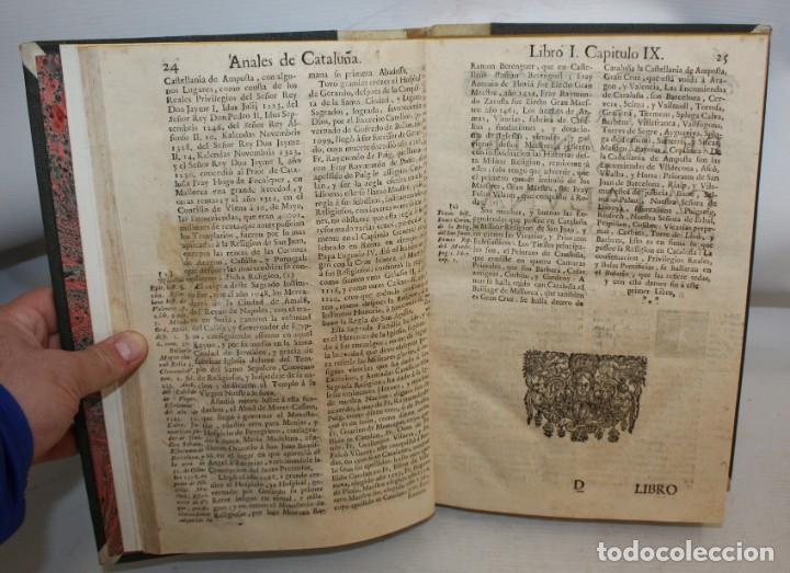 Libros antiguos: ANALES DE CATALUÑA Y EPILOGO BREVE DE LOS PROGRESSOS, Y FAMOSOS HECHOS DE LA NACION CATALANA. 1709 - Foto 7 - 153271170