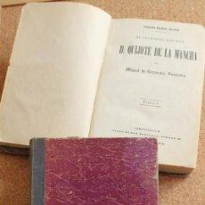 Libros antiguos: EL INGENIOSO HIDALGO DON QUIJOTE DE LA MANCHA. CERVANTES SAAVEDRA (MIGUEL DE). Lote 153332774