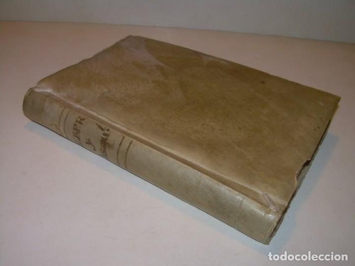 ANTIGUO LIBRO DE PERGAMINO...AÑO 1830..QUATRE CONVERSAS ENTRE DOS PERSONATGES. (Libros antiguos (hasta 1936), raros y curiosos - Literatura - Narrativa - Otros)