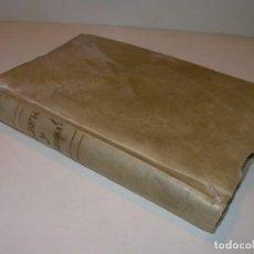 Libros antiguos: ANTIGUO LIBRO DE PERGAMINO...AÑO 1830..QUATRE CONVERSAS ENTRE DOS PERSONATGES.. Lote 153348758