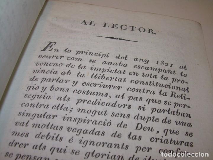Libros antiguos: ANTIGUO LIBRO DE PERGAMINO...AÑO 1830..QUATRE CONVERSAS ENTRE DOS PERSONATGES. - Foto 3 - 153348758