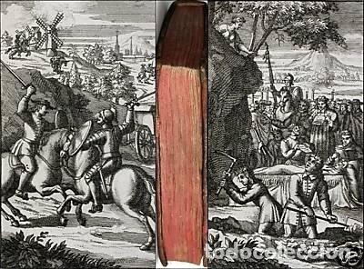 Libros antiguos: Histoire de l admirable Don Quichotte de la Manche, 1713. M. de Cervantes. Posee numerosos grabados - Foto 18 - 153443957