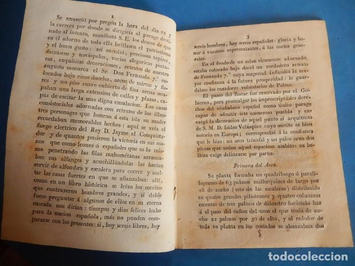 Libros antiguos: Publicación y Jura de la Constitución Política de la Monarquía Española. Palma. Baleares. 1812. - Foto 7 - 153477906