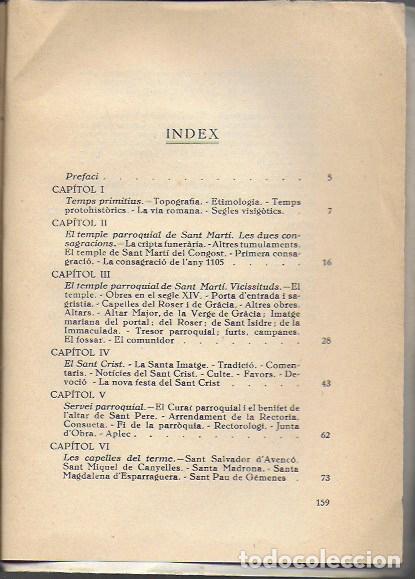 Libros antiguos: Aiguafreda. La parroquia antiga i el poble modern / Fortià Solà. BCN, 1932. 19x14cm. 160 p. + 4 p. f - Foto 2 - 153480658