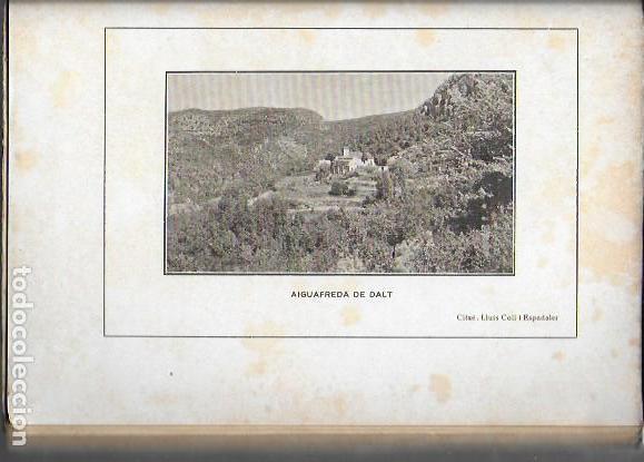 Libros antiguos: Aiguafreda. La parroquia antiga i el poble modern / Fortià Solà. BCN, 1932. 19x14cm. 160 p. + 4 p. f - Foto 5 - 153480658