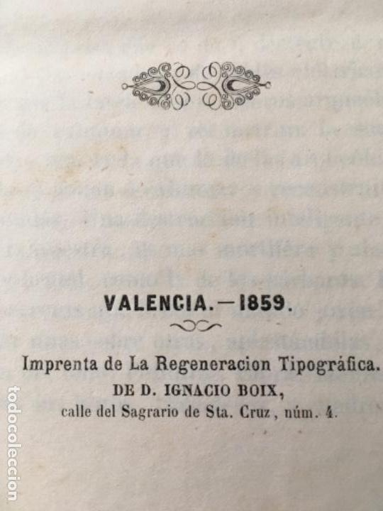 Libros antiguos: LOS VALENCIANOS PINTADOS POR SI MISMOS. VALENCIA 1859. - Foto 7 - 153538358