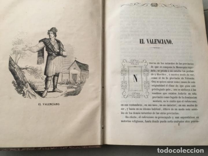 Libros antiguos: LOS VALENCIANOS PINTADOS POR SI MISMOS. VALENCIA 1859. - Foto 8 - 153538358