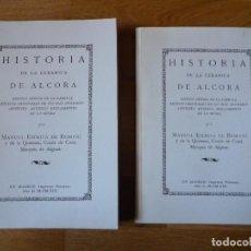 Libros antiguos: HISTORIA DE LA CERÁMICA DE ALCORA POR MANUEL ESCRIVÁ CONDE DE CASAL. Lote 153542242